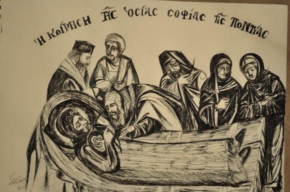 Кончина преподобной Софии
