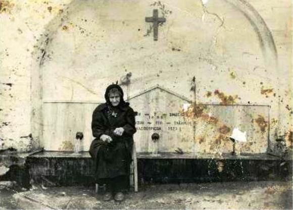 преподобная София у монастырского источника