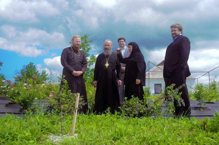 Блаженнейший Митрополит Онуфрий в Ольшанском женском монастыре