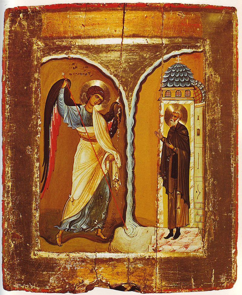 Икона Чудо Архистратига Михаила в Хонех